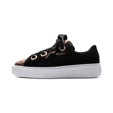 Platform Kiss Artica Women's Shoes, Puma Black-Puma Black, small-IND