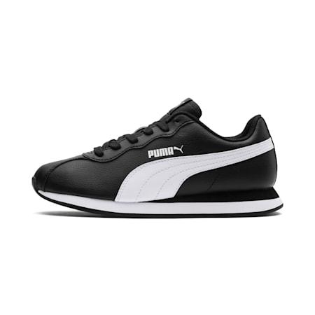 キッズ プーマ チューリン 2 BG 22-25cm, Puma Black-Puma White, small-JPN