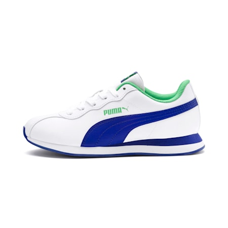 Turin II Kid's Shoes, Puma White-Surf The Web, small-IND