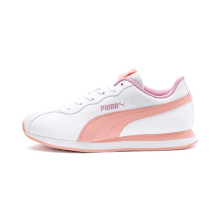 Turin II Sneakers JR, P.White-Peach Bud-Pale Pink, small