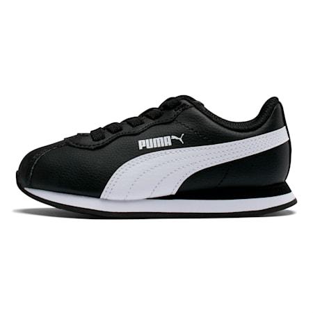 Zapatos Turin II para niño pequeño, Puma Black-Puma White, pequeño