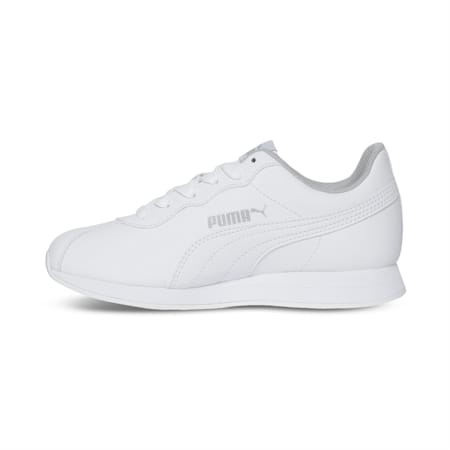 Turin II AC Kids' Shoes, Puma White-Puma White, small-IND