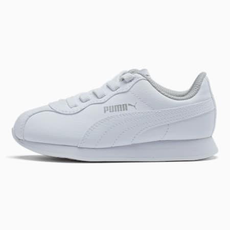 Turin II AC Little Kids' Shoes, Puma White-Puma White, small