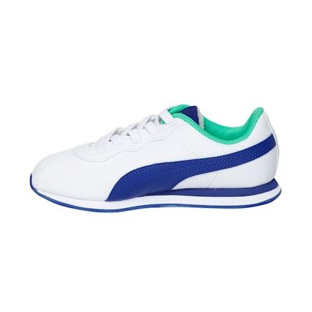 Turin II AC Kids' Shoes, Puma White-Surf The Web, small-IND