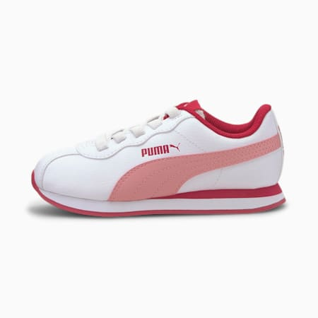 Turin II AC Little Kids' Shoes, Puma White-Peony, small