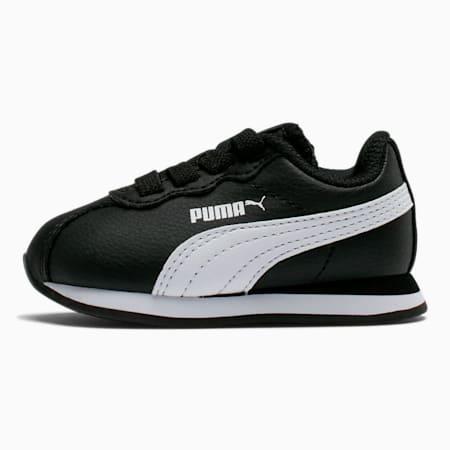 Zapatos Turin II para bebés, Puma Black-Puma White, pequeño