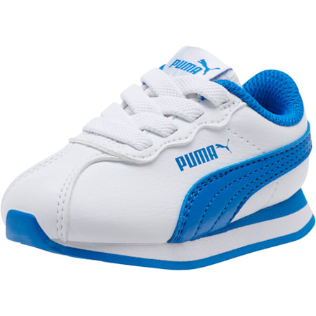 Turin II AC Toddler Shoes, Puma White-Strong Blue, small