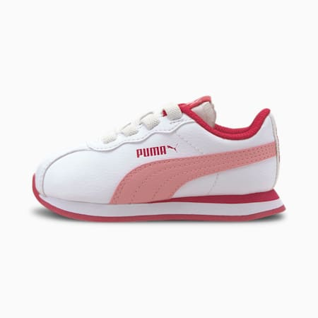 Turin II AC Toddler Shoes, Puma White-Peony, small