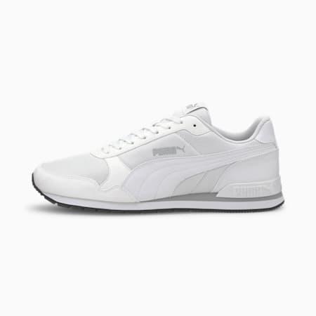 Zapatos deportivos de malla ST Runner v2 para hombre, Puma White-High Rise, pequeño