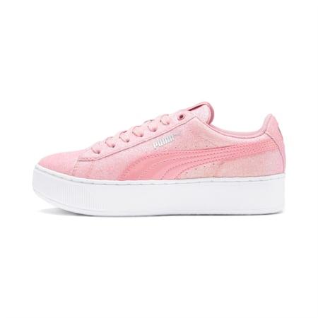PUMA Vikky Platform Glitz Sneakers JR, Bridal Rose-Bridal Rose, small