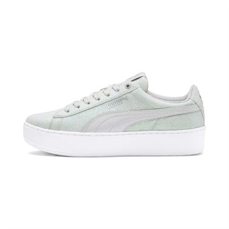 PUMA Vikky Platform Glitz Sneakers JR, Gray Violet-Gray Violet, small