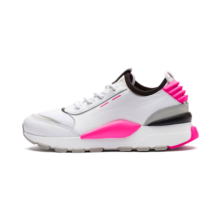 Evolution RS-0 SOUND Trainers, Wht-GrayViolet-KNOCKOUTPINK, small