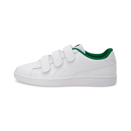 Smash v2 V Shoes, Puma W-Puma W-Amazon Green, small-IND