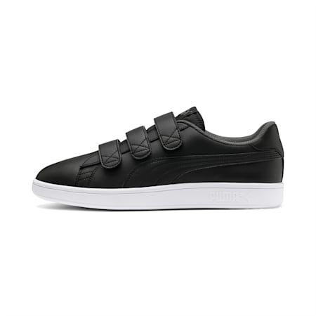 Smash v2 V Shoes, Puma Black-CASTLEROCK-White, small-IND