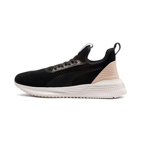 AVID Lux Shoes, Black-Vachetta-Whisper White, small-IND