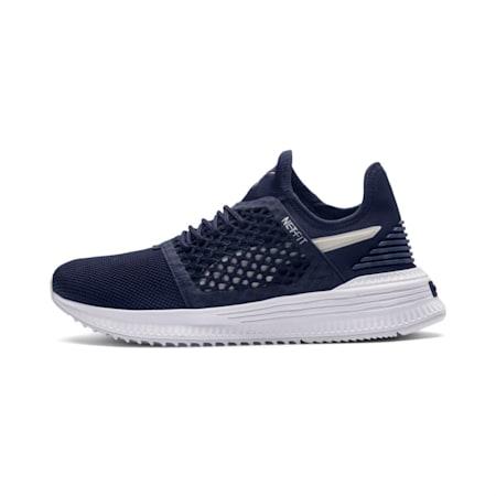 AVID NETFIT Shoes, Peacoat-GrayViolet-PumaWhite, small-IND