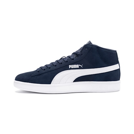 Smash v2 Mid Shoes, Peacoat-Puma White, small-IND