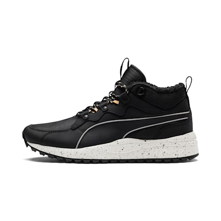 Pacer Next Trainers Winterised Boots, Puma Black-Black-Wh White, small