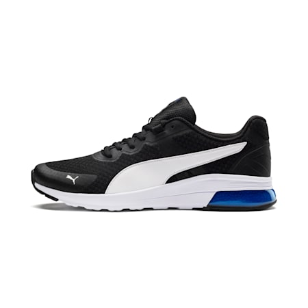 Electron Shoes, P.Black-P. White-Strong Blue, small-IND