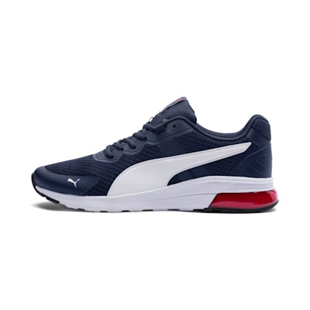 Electron Shoes, Peacoat-Puma White- Red, small-IND