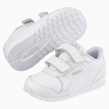 ST Runner v2 AC Little Kids' Shoes, Puma White-Gray Violet, small