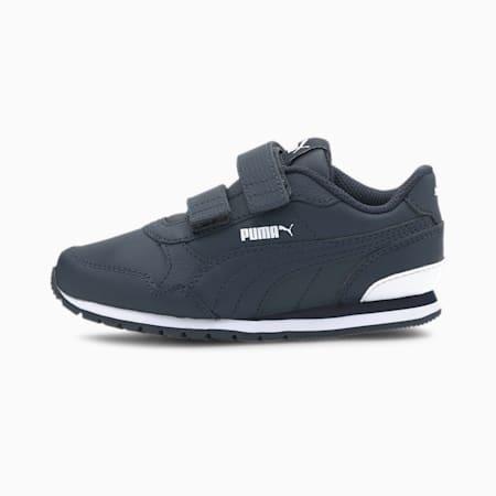 ST Runner v2 AC Little Kids' Shoes, Peacoat-Peacoat-Puma White, small