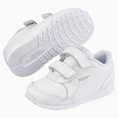 ST Runner v2 AC Shoes INF, Puma White-Gray Violet, small