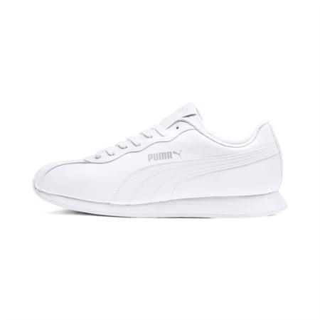Zapatos deportivos Turin II para hombre, Puma White-Puma White, pequeño