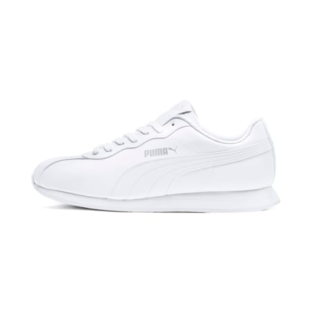 Turin II Men's Sneakers, Puma White-Puma White, small
