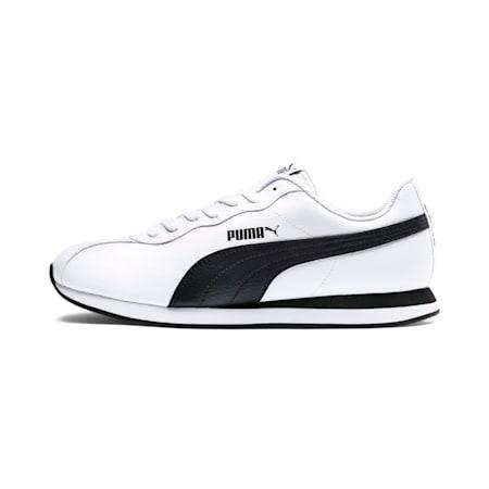 푸마 튜린 II/Puma Turin II, Puma White-Puma Black, small-KOR