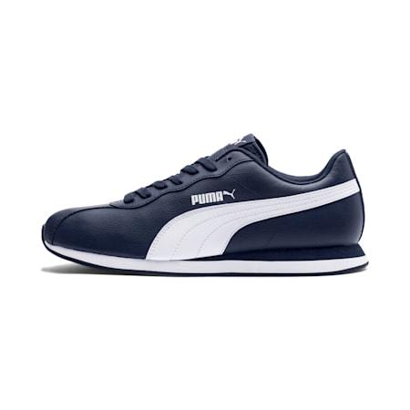 PUMA Turin II Unisex Shoes, Peacoat-Puma White, small-IND