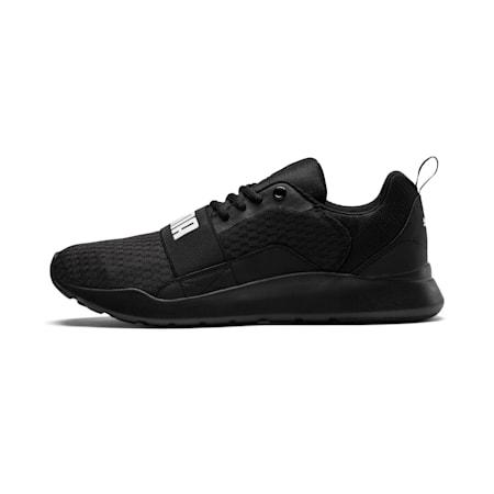 PUMA Wired IMEVA Shoes, Puma Black-Puma Black-Puma Black, small-IND