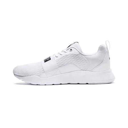 PUMA Wired IMEVA Shoes, Puma White-Puma White-Puma White, small-IND