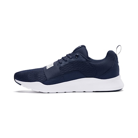 Wired Trainers, Peacoat-Peacoat-Puma White, small-GBR
