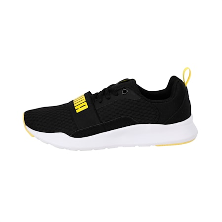 Wired Shoes, Puma Black-Blazing Yellow, small-IND