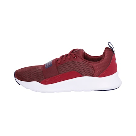 PUMA Wired IMEVA Shoes, Cordovan-Peacoat, small-IND