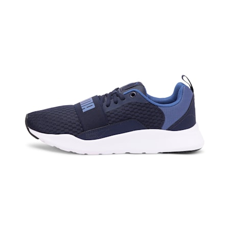 PUMA Wired IMEVA Shoes, Peacoat-Galaxy Blue, small-IND