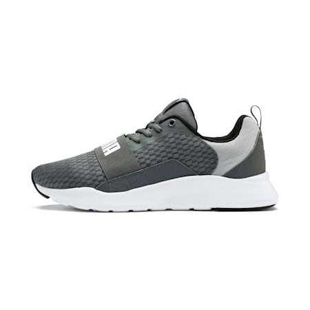 Wired IMEVA Shoes, CASTLEROCK-Puma White, small-IND