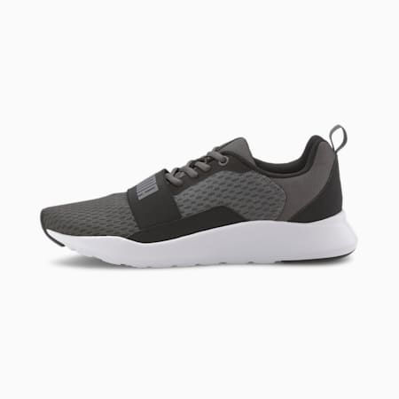 PUMA Wired IMEVA Shoes, Steel Gray-Steel Gray, small-IND