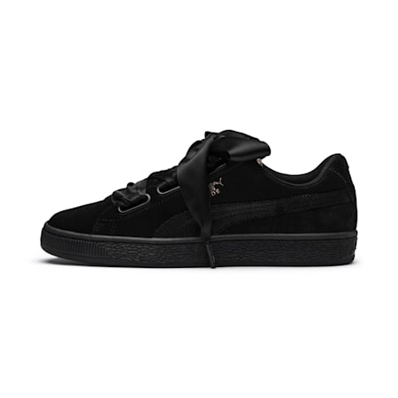 Suede Heart Arctica Women's Sneakers, Puma Black-Puma Black, small