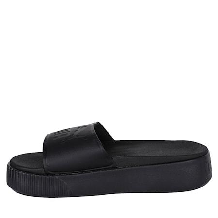 Platform Slide Bold Women's Sandals, Puma Black-Puma Black, small-IND