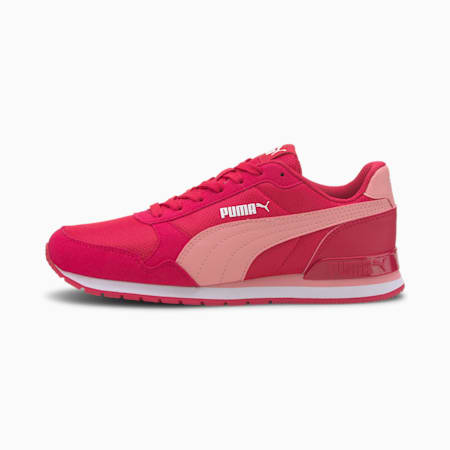 ST Runner v2 Mesh Sneakers JR, BRIGHT ROSE-Peony-Puma White, small-IND