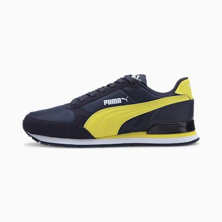 ST Runner v2 Mesh Sneakers JR, Peacoat-Meadowlark-Puma Whi, small-IND