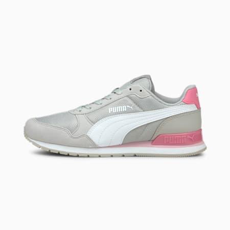 ST Runner v2 Mesh Sneakers JR, Gray Violet-Puma White-Sachet Pink, small-IND