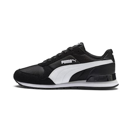 ST Runner v2 Mesh AC Little Kids' Shoes, Puma Black-Puma White, small-IND