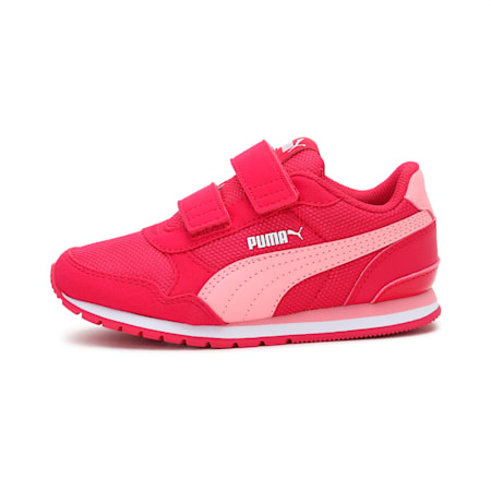 ST Runner v2 Mesh AC Little Kids' Shoes, BRIGHT ROSE-Peony-Puma White, small-IND