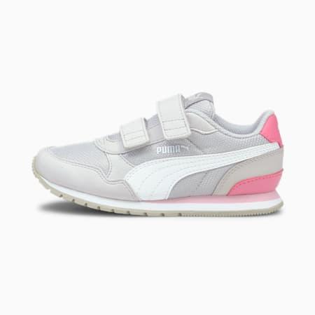 ST Runner v2 Mesh AC Little Kids' Shoes, Gray Violet-Puma White-Sachet Pink, small-IND