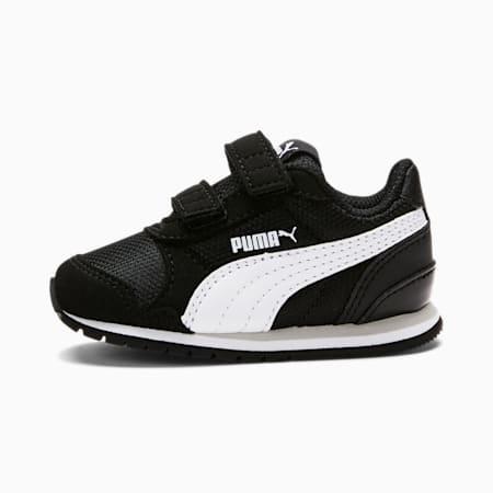 ST Runner v2 Mesh AC Toddler Shoes, Puma Black-Puma White, small