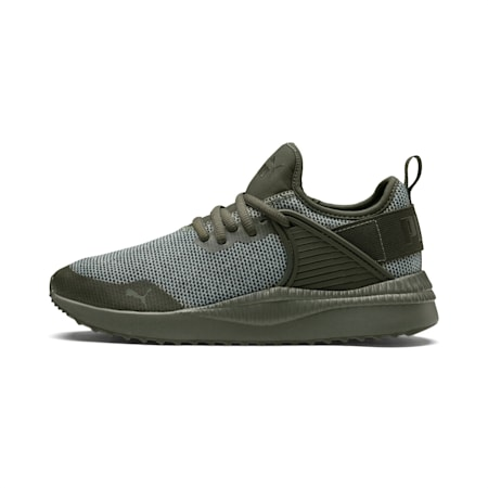 Pacer Next Cage Knit Kids' Shoes, Forest Ngt-F.Ngt-Laurel Wrth, small-IND