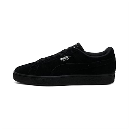 Suede Jewel Women's Sneakers, Puma Black-Puma Silver, small-IND